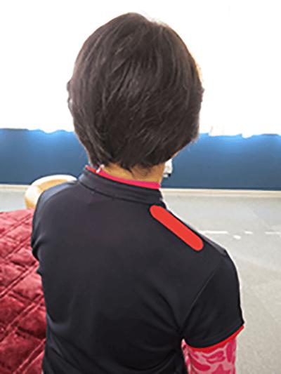 1. 首の根元~肩口